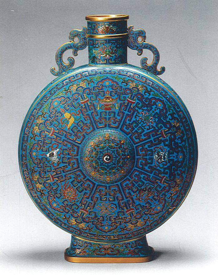 铜胎掐丝珐琅龙耳抱月瓶 高50.5cm_副本.jpg